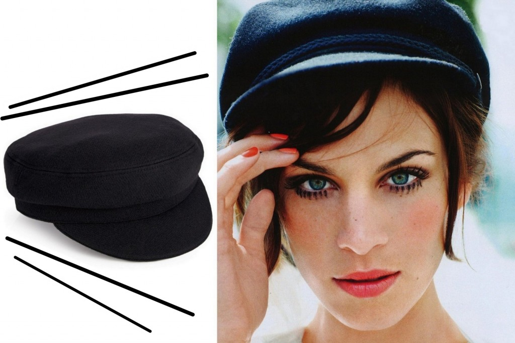 baker hat alexa chung