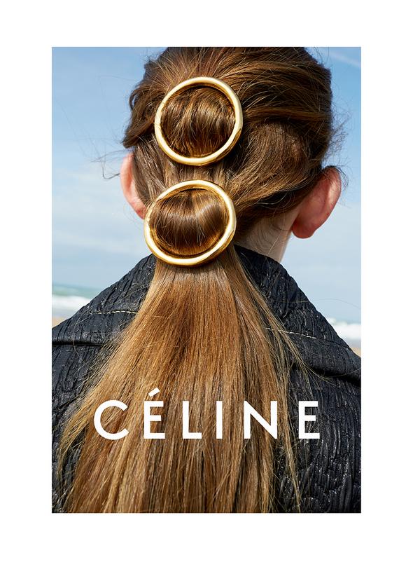 CIRCLE HAIR CLIPS