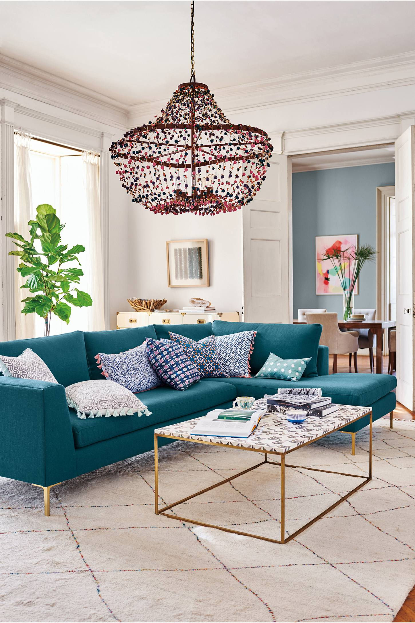 Living The Anthropologie Way Of Life Living Rooms: ANTHROPOLOGIE HOME COLLECTION