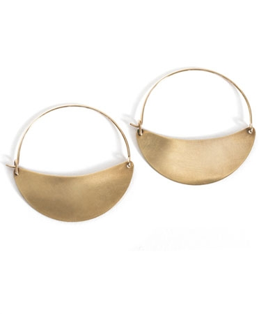 LILA RICE EARINGS