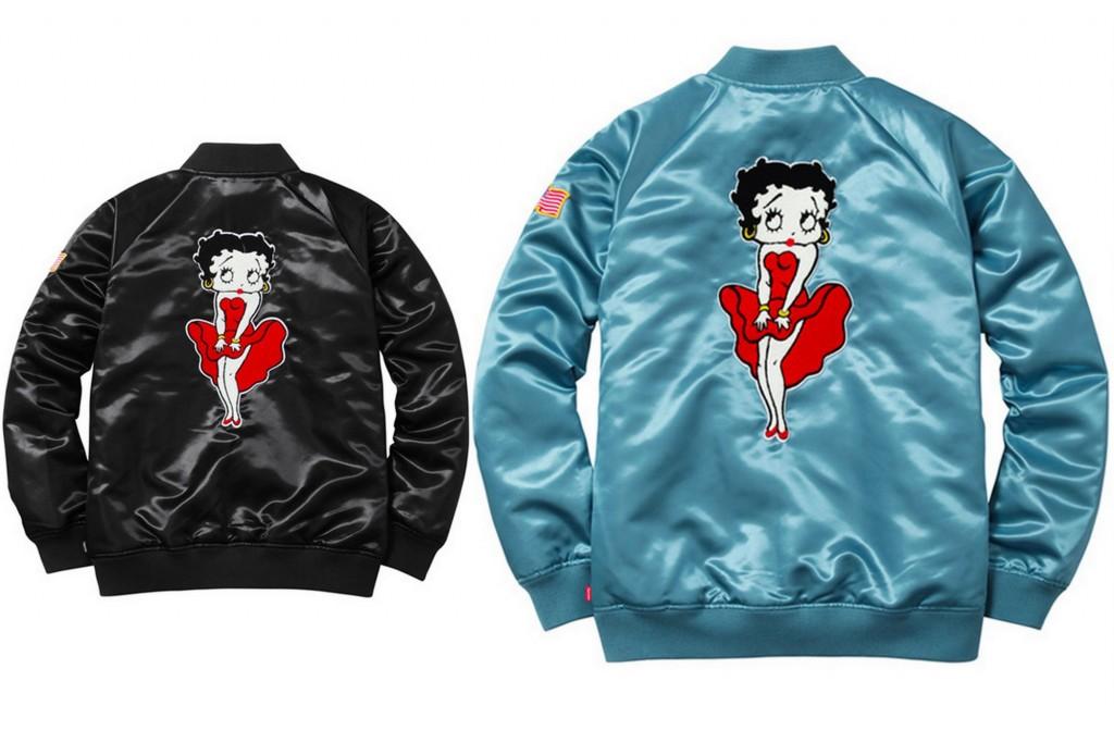 supreme-betty-boop-satin-varsity-jacket