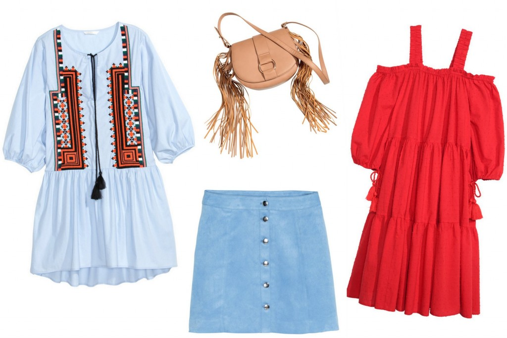 TOP 10 BOHO PIECES FROM H&M