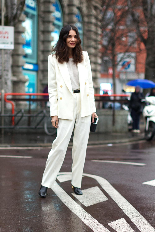 Favorite Street Style Outfits Milan Fashion Week Little Fashion Paradise