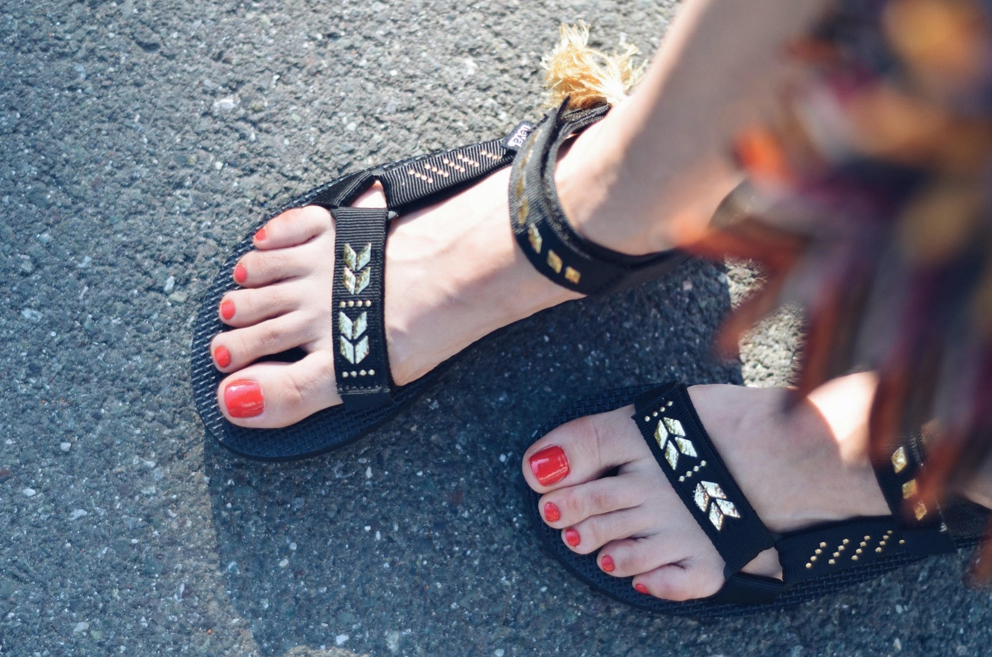Ana Bacinger Teva sandals