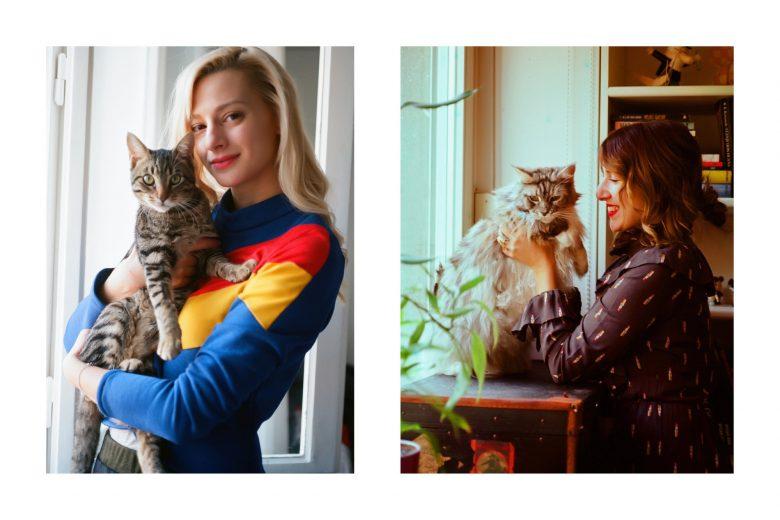 croatian-girls-and-their-cats- sara-pukanic