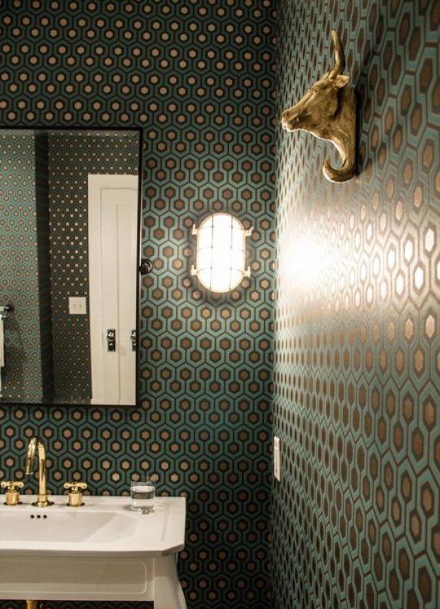 BATHROOM WALLPAPER IDEAS Little Fashion Paradise