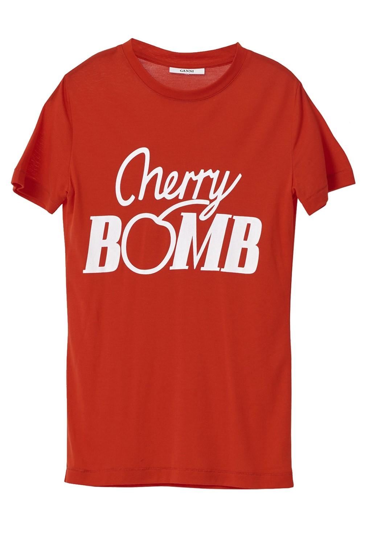 ganni cherry bomb