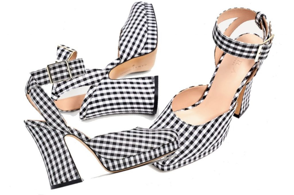 LOVE AT FIRST SIGHT: ZARA CHECKERED SHOES