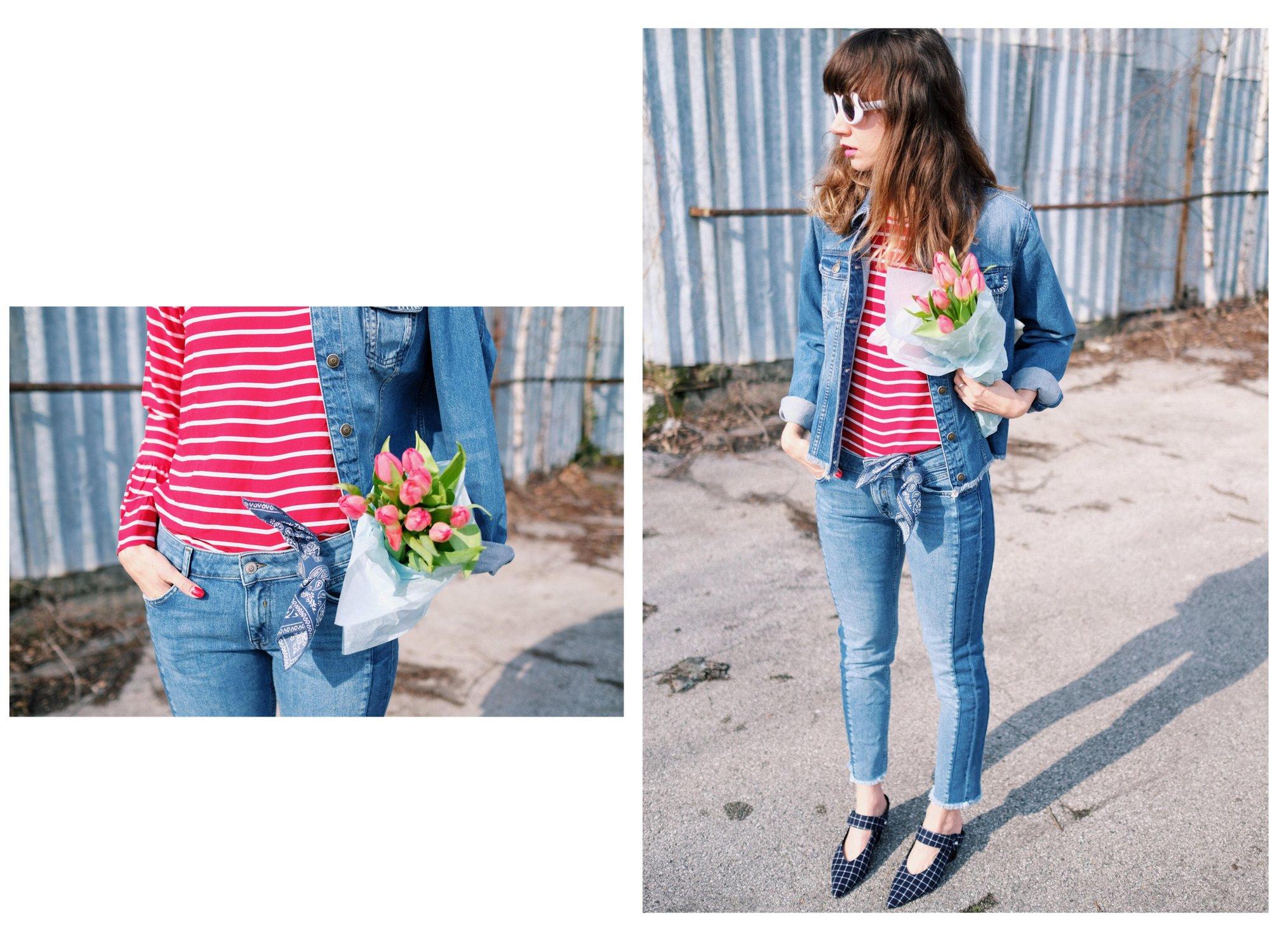 s.oliver flowers & denim