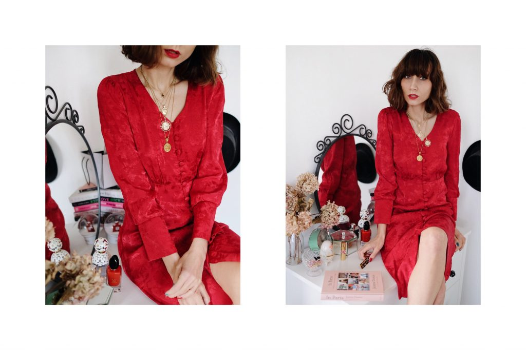 Reserved red dress